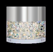 Kiara Sky™ Kiara Sky Sprinkle On Glitter SP203 - GLAM AND GLISTEN - 25 gram - Strooi deze losse glitters in jouw gellak - gel of acryl en maak van jouw nagels een feestje