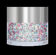 Kiara Sky™ Kiara Sky Sprinkle On Glitter SP234 - EERIE-DESCENT - 25 gram - Strooi deze losse glitters in jouw gellak - gel of acryl en maak van jouw nagels een feestje