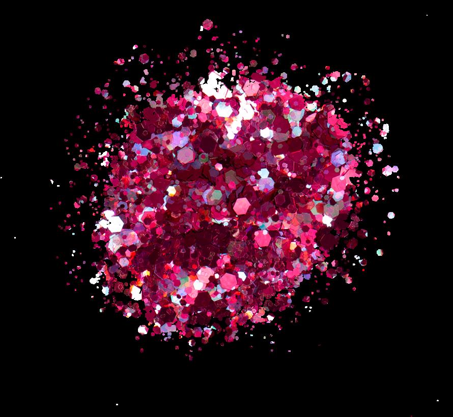 Kiara Sky Sprinkle On Glitter SP237 - DISCO LIGHTS - 25 gram - Strooi deze losse glitters in jouw gellak - gel of acryl en maak van jouw nagels een feestje