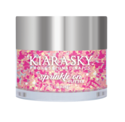 Kiara Sky™ Kiara Sky Sprinkle On Glitter SP240 - SWEET TALK - 25 gram - Strooi deze losse glitters in jouw gellak - gel of acryl en maak van jouw nagels een feestje