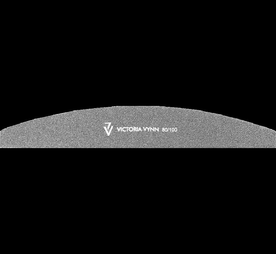 Victoria Vynn™ Salon files halfmoon black 80/100