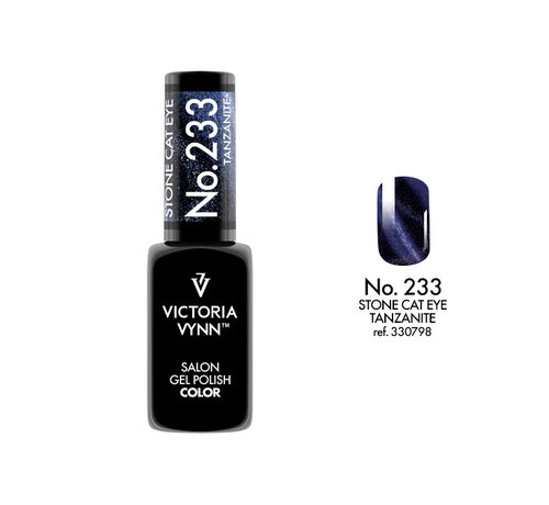 Victoria Vynn  Victoria Vynn™ Gel Polish Stone Cat Eye Tanzanite - 233 - 8 ml.