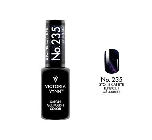 Victoria Vynn  Victoria Vynn™ Gel Polish Stone Cat Eye Lepidolit - 235 - 8 ml.