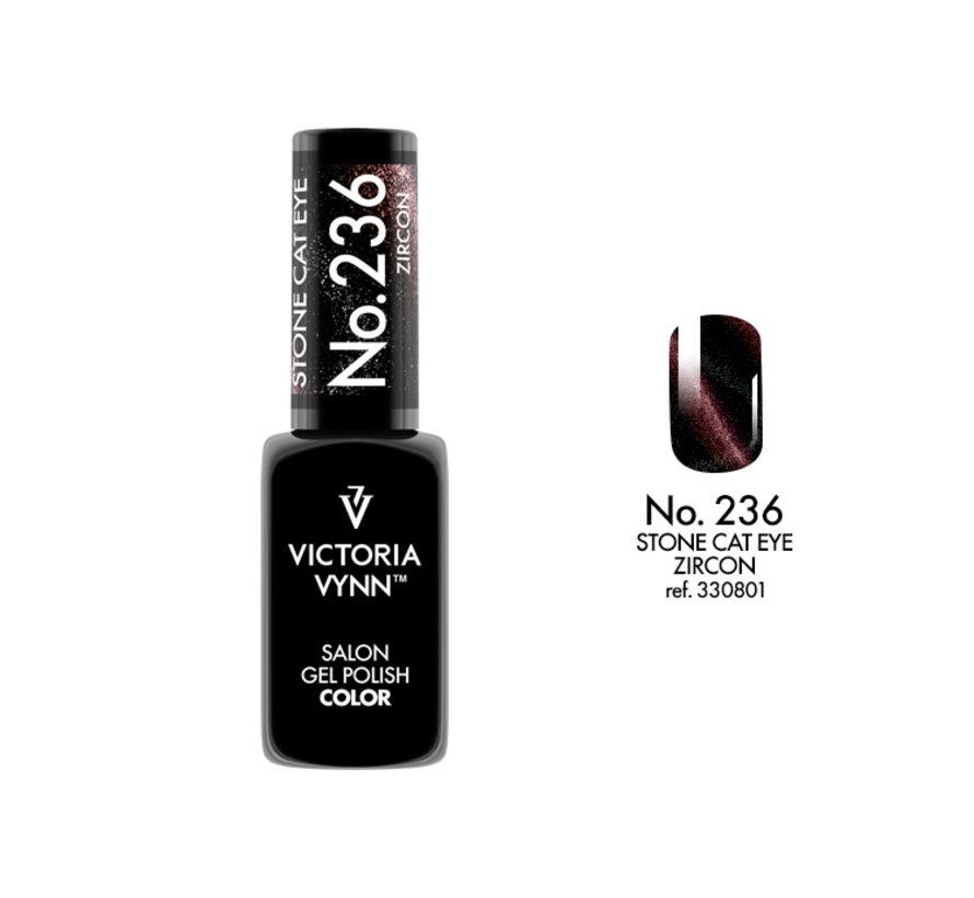 Victoria Vynn™ Gel Polish Stone Cat Eye Zircon - 236 - 8 ml.