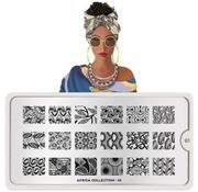 MoYou London  MoYou London Stempelplaat - Nail Art Stamping Africa 01