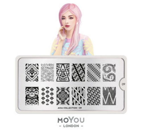 MoYou London  MoYou London Stempelplaat - Nail Art Stamping Asia 09