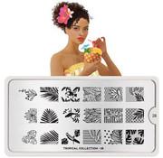 MoYou London  MoYou London Stempelplaat - Nail Art Stamping Tropical 28