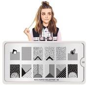 MoYou London  MoYou London Stempelplaat - Nail Art Stamping  Mix & Match 02