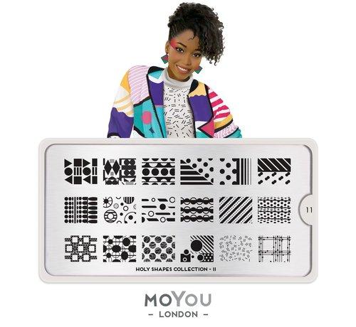 MoYou London  MoYou London Stempelplaat - Nail Art Stamping  Holy Shapes 11