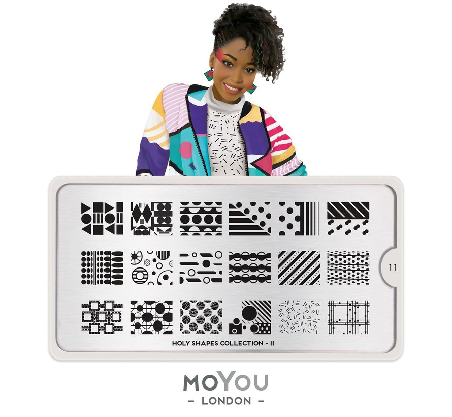 MoYou London Stempelplaat - Nail Art Stamping  Holy Shapes 11