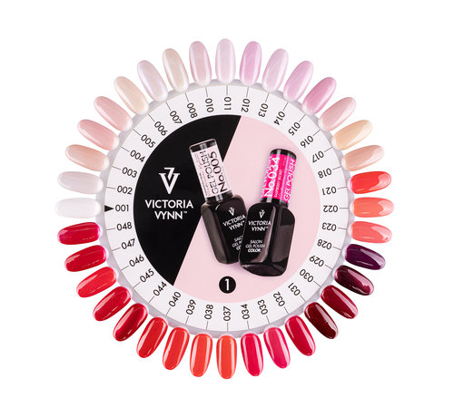 Victoria Vynn  Victoria Vynn Salon Collectie Kleurenkaart 1-48