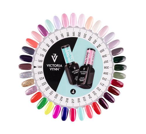 Victoria Vynn  Victoria Vynn Salon Collectie Kleurenkaart 168-225