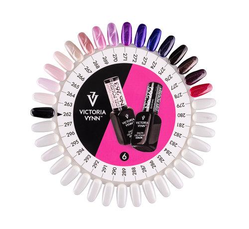 Victoria Vynn  Victoria Vynn Salon Collectie Kleurenkaart 262-297