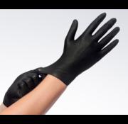 Comfort Soft Nitril Handschoenen Wegwerp - Disposable gloves - Zwart - Per doosje van 100 stuks Maat S