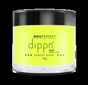 NailPerfect Dip poeder voor nagels | Dippn Nailperfect | 046 Yeah Low | 25gr | Geel