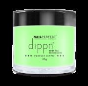 NailPerfect Dip poeder voor nagels | Dippn Nailperfect | 044 The Neighbours | 25gr | Groen