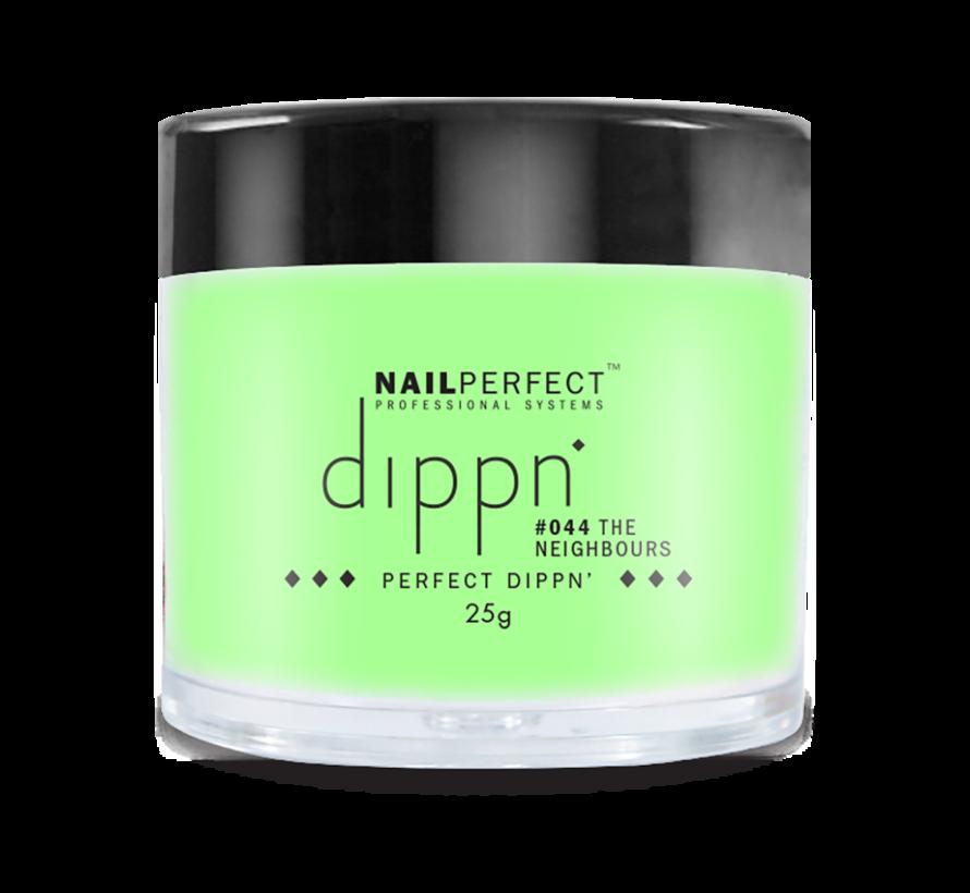 Dip poeder voor nagels | Dippn Nailperfect | 044 The Neighbours | 25gr | Groen