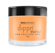NailPerfect Dip poeder voor nagels   Dippn Nailperfect   015 Orange is the new Trend   25gr   Oranje