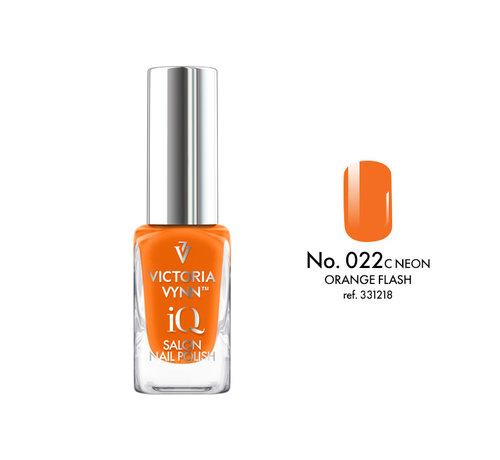 Victoria Vynn  Victoria Vynn   iQ Nagellak   022 Orange Flash   9 ml.   Oranje