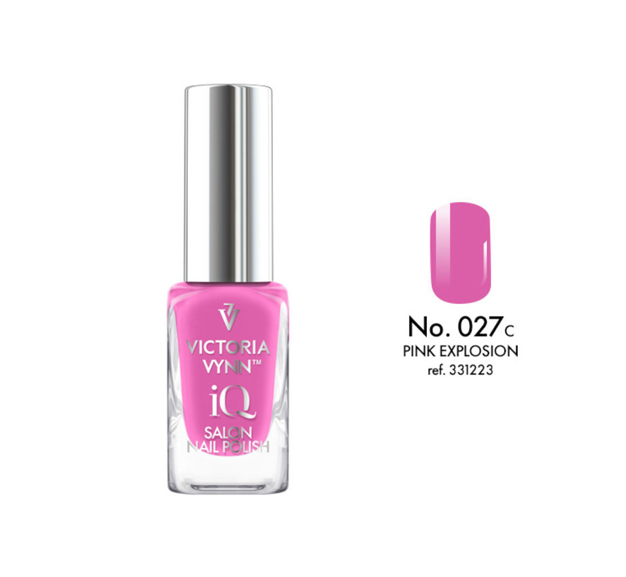 Victoria Vynn | iQ Nagellak | 027 Pink Explosion | 9 ml. | Roze