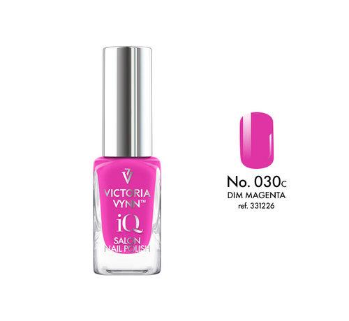 Victoria Vynn  Victoria Vynn   iQ Nagellak   030 Dim Magenta   9 ml.   Roze