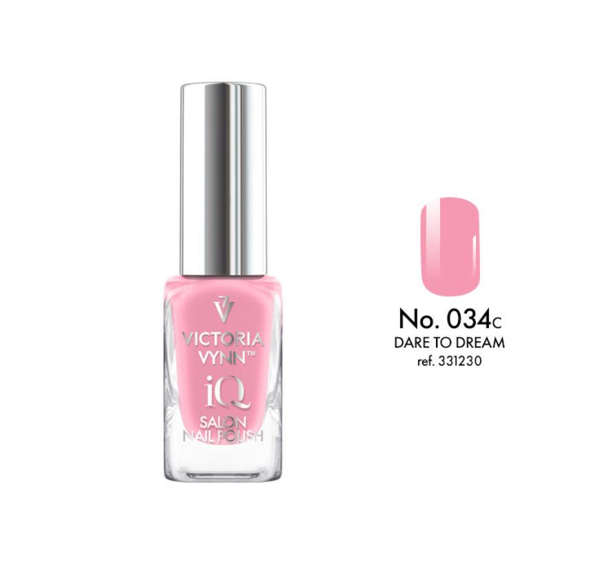 Victoria Vynn   iQ Nagellak   034 Dare To Dream   9 ml.   Roze