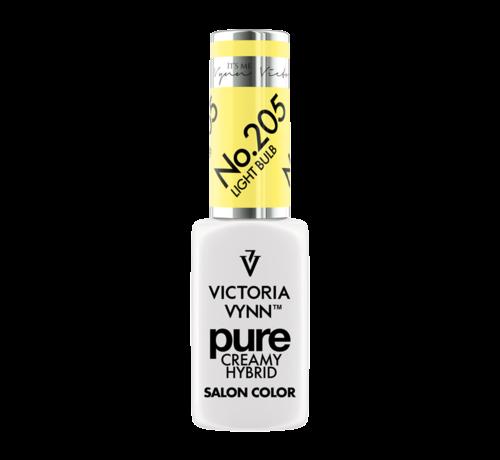 Victoria Vynn  Victoria Vynn | Pure Gellak | 205 Light Bulb | 8 ml. | Neon Geel