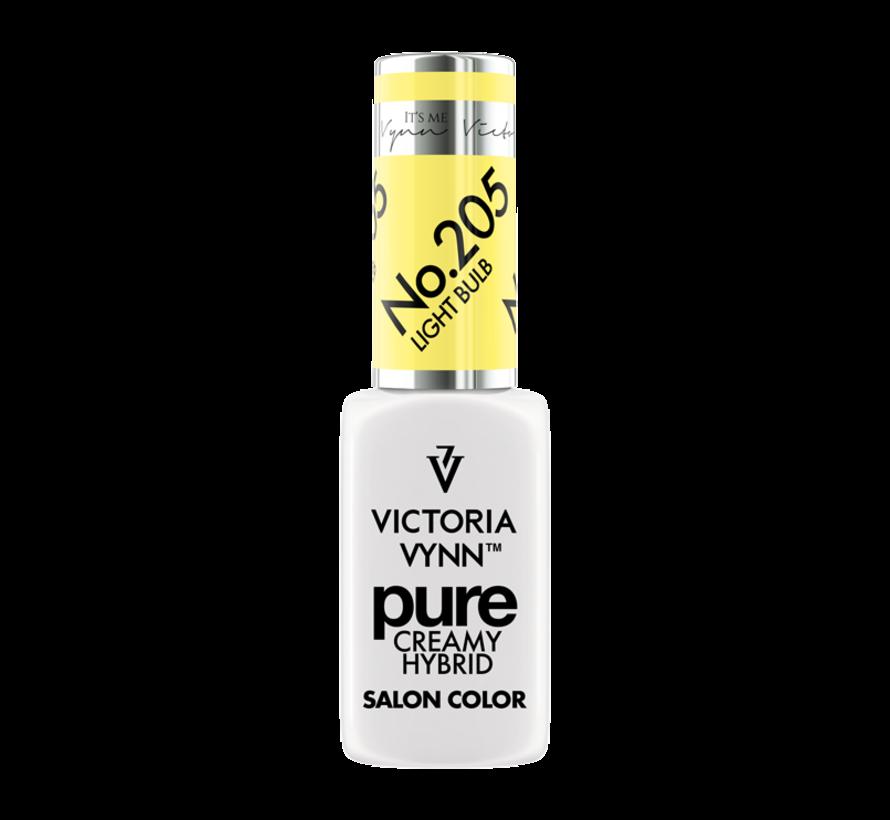 Victoria Vynn | Pure Gellak | 205 Light Bulb | 8 ml. | Neon Geel