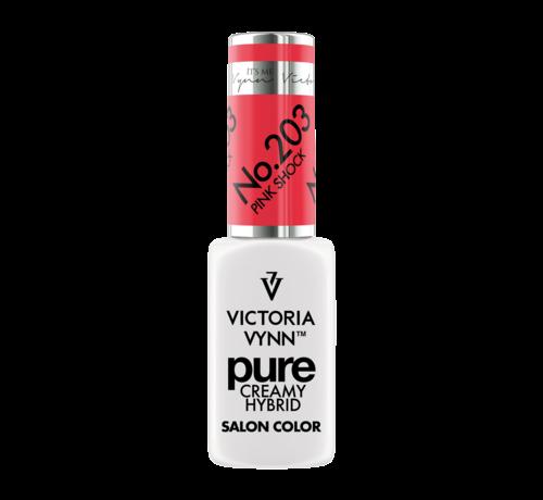 Victoria Vynn  Victoria Vynn | Pure Gellak | 203 Pink Shock | 8 ml. | Neon Koraal