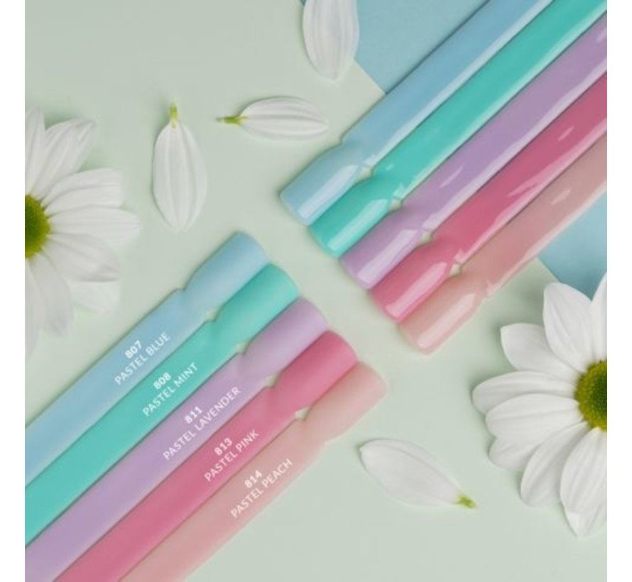 807 Semilac Extend 5in1 Pastel Blue 7ml