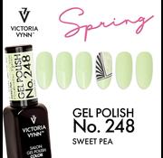 Victoria Vynn  Victoria Vyn Gellak - Gel Nagellak - Salon Gel Polish Color - 248 Sweet Pea  - 8 ml. - Lichtgroen