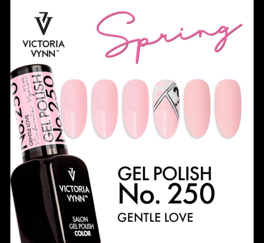 Victoria Vynn Gellak - Gel Nagellak - Salon Gel Polish Color - 250 Gentle Love - 8 ml. - Lichtroze