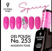 Victoria Vynn  Victoria Vyn Gellak - Gel Nagellak - Salon Gel Polish Color - 253 Magenta Tone - 8 ml. - Roze