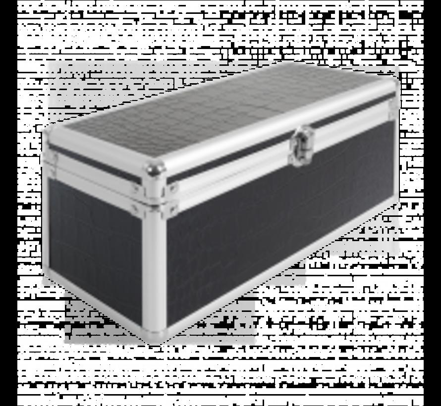 Essentials Case / Gel Nagellak box Black Croco