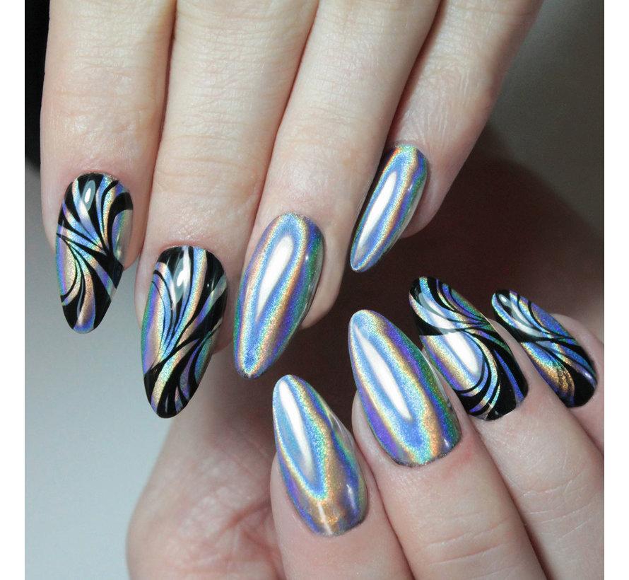 Semilac - SemiFlash - Pigment voor op de nagels - 658 Holo Instinct
