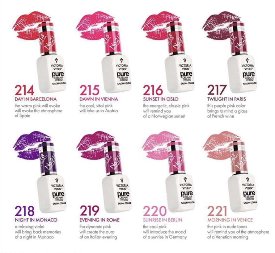 Pure Kiss Intense Collectie | Pure Intense Kiss Pack 2 | 4 kleuren + Gratis Kleur | Base of Top naar keuze