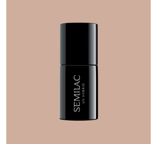 Semilac Semilac Gellak   Gelpolish Soak Off   369 Sunkissed Tan   7 ml.   Nude