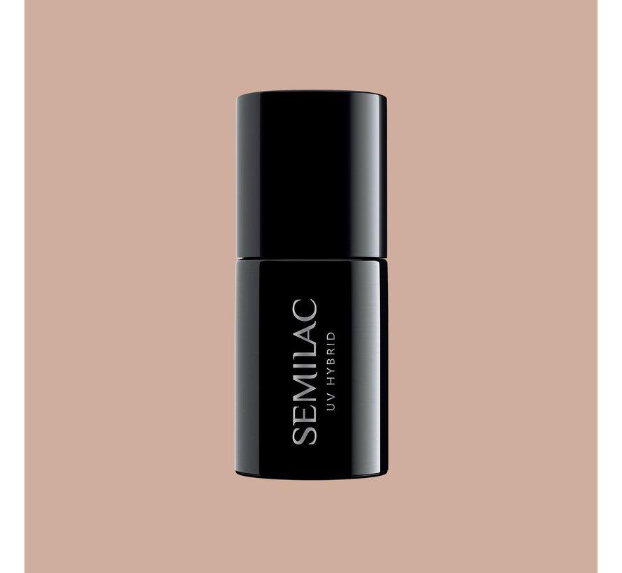 Semilac Gellak   Gelpolish Soak Off   369 Sunkissed Tan   7 ml.   Nude