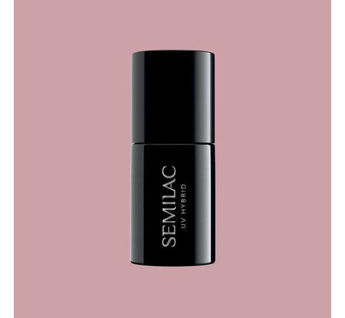 Semilac Semilac Gellak   Gelpolish Soak Off   372 Sandal Tree Pink   7 ml.   Roze Nude