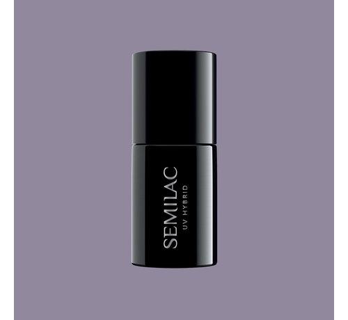 Semilac Semilac Gellak   Gelpolish Soak Off   374 Dusty Purple   7 ml.   Paars
