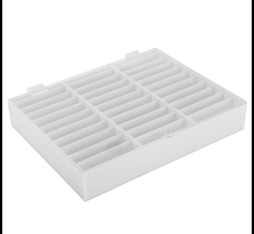 Show Tip Box | Wit | Plexiglas