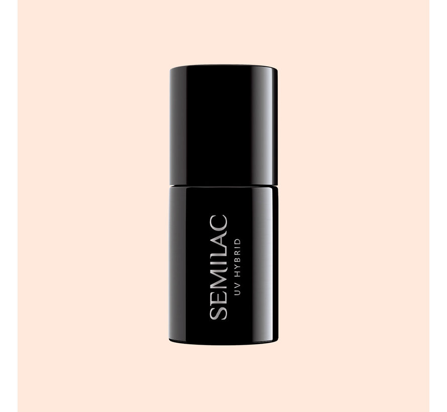 Semilac Gellak | Gelpolish Soak Off | 574 Bride In Powder Pink | 7 ml. | Perzik Roze