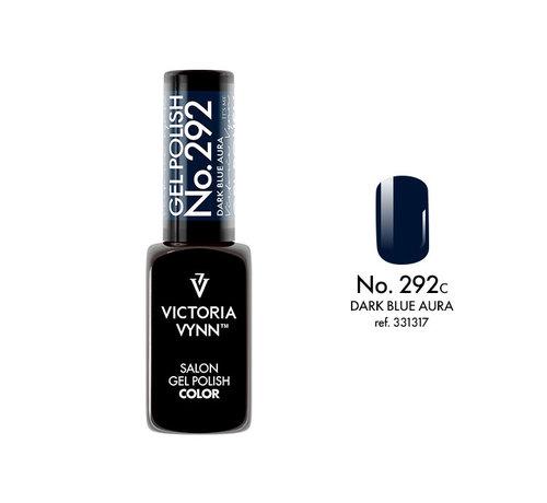 Victoria Vynn  Victoria Vynn | Salon Gellak | 292 Dark Blue Aura | 8 ml. | Blauw