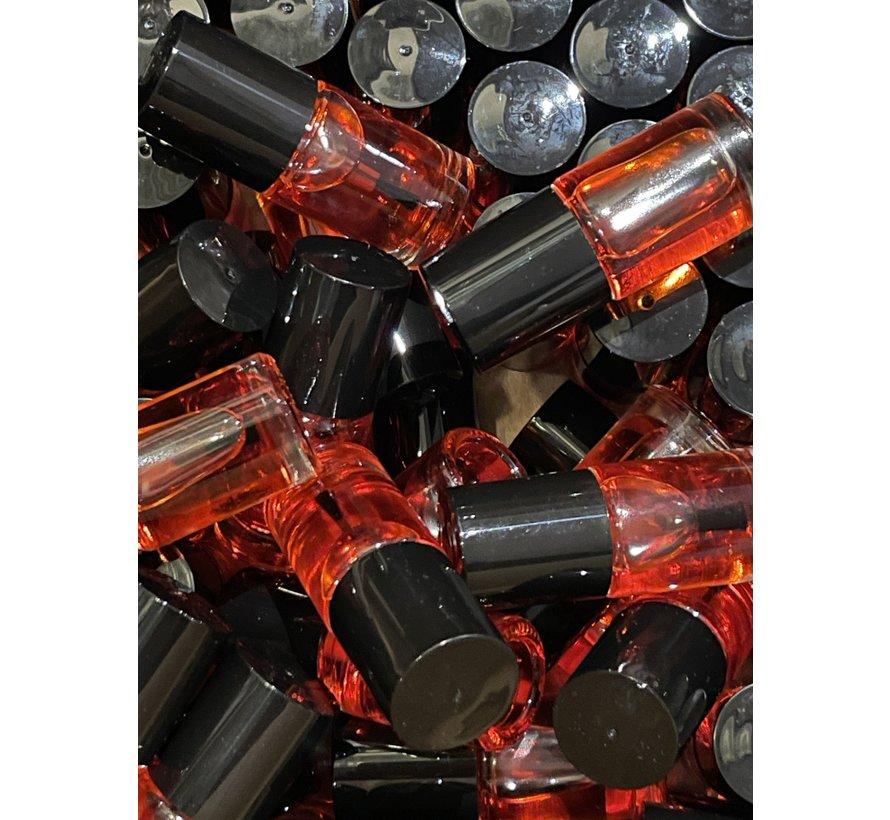 Nagelriemolie No Label 5ml. Aardbei - Verpakt per 100 stuks van dezelfde geur