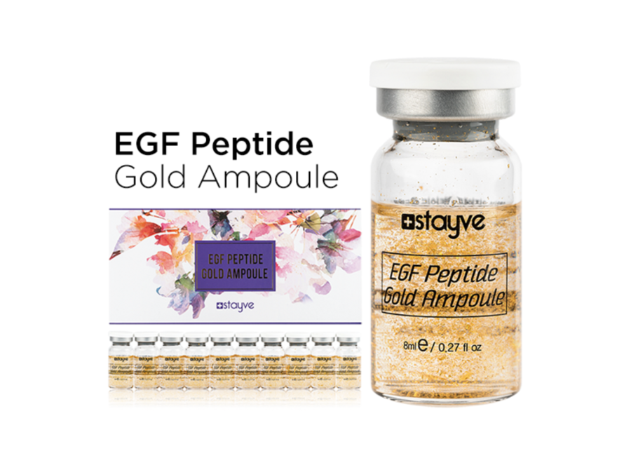 EGF Peptide Gold Ampoules