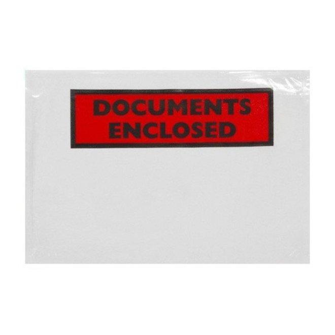 Paklijstenvelop bedrukt C5 160 x 230 mm doos 1000 stuks