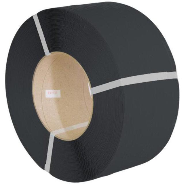Omsnoeringsband PP 12,0 x 0,63 mm x 2700 m K200 zwart