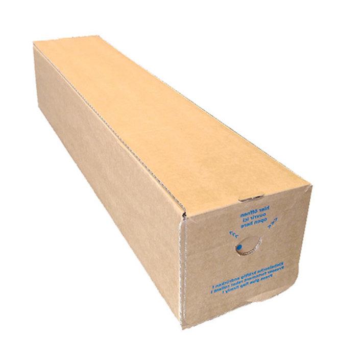 Vierkante verzendkoker 105 x 105 x 610 mm