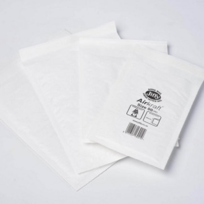 Luchtkussen enveloppen G - Bubbelenveloppen 230 x 340 mm  - Doos met 100 enveloppen