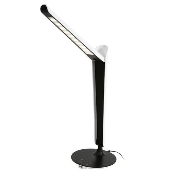 LED Bureaulamp Zwart 8W USB